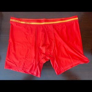 Calvin Klein size L red boxer briefs
